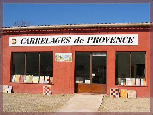 "Carrelages de Provence is a typical small-scale company created more than 5 years ago. Located in the heart of Provence region in the Var department (83), the village Salernes ""the tiles land"" improved a quality know-how."